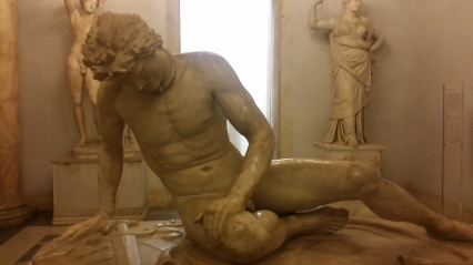 The Dying Gaul, one of the most poignant sculptures I've ever seen